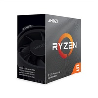 Product Image of AMD Ryzen 5 3600X, 6 Core AM4 CPU, 3.8GHz 4MB 65W w/Wraith Stealth Cooler Fan RX Vega Graphics Box