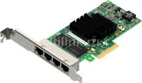 Product Image of Intel INTEL QUAD PORT, 1GbE, ETHERNET ADAPTER, I350T4V2, RJ45, LP/FULL BRACKET