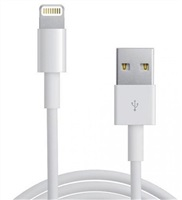 Product Image of Astrotek iPhone 5 / 6 Lighting Data Charger Cable 1m - USB Type A Male to 8 pins Male White Colour RoHS
