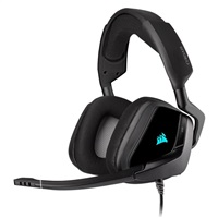 Product Image of Corsair VOID RGB ELITE USB Premium Gaming Headset with 7.1 Surround Sound, Carbon CA-9011203-AP