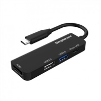 Product Image of Simplecom DA305 USB 3.1 Type C to HDMI 4 in 1 Combo Hub (HDMI + USB3.0 + USB2.0 + Micro USB)
